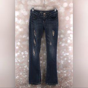 Blue Asphalt distressed jeans